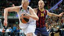 Lampe scored 10 points back in his home country/ PHOTO: EUROLEAGUE.NET