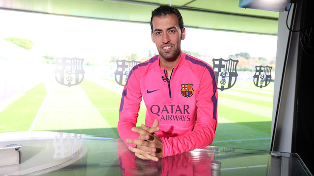 Sergio Busquets has looked back on 300 appearances for Barça / PHOTO: MIGUEL RUIZ - FCB