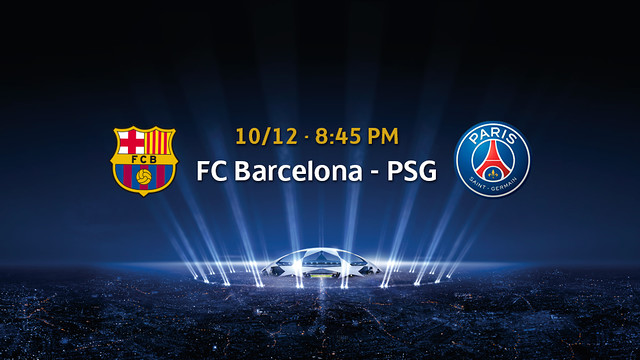 Barça v PSG