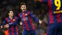 Neymar celebra o gol contra o PSG
