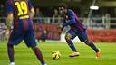 Dongou, en un partido en el Miniestadi / FOTO: ARCHIVO - FCB