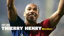 Infogràfic d'Henry al Barça
