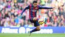 Pedro, en action contre Cordoba. PHOTO: MIGUEL RUIZ - FCB