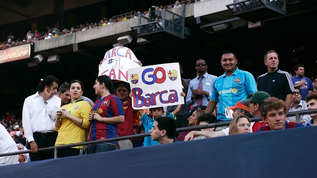 FC Barcelona will be better poised to cater for their massive following in the US / FCB ARCHIVE