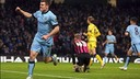 James Milner was on target for City/ TWITTER - MANCHESTER CITY