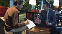 FC Barcelona president Josep Maria Bartomeu, being interviewed by The Wall Street Journal. / PHOTO: FCB