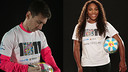 Leo Messi and Serena Williams are supporting # 1in11