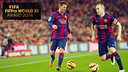 Messi and Iniesta both made the 2014 team of the year / FCB