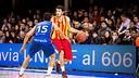 Àlex Abrines led the Barça scoring with 19 points / PHOTO: ACB Photo