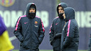 Luis Enrique during the training session / MIGUEL RUIZ-FCB
