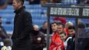 Simeone on the sidelines in Atlético's recent win over Granada / PHOTO: WWW.CLUBATLETICODEMADRID.COM