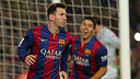 Messi scored the winner on an intense evening at the Camp Nou / PHOTO: MIGUEL RUIZ-FCB