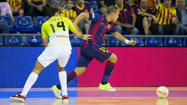Ferrao marcó un gol en el partido de la primera vuelta
