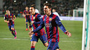 Messi was again key to the win. PHOTO: MIGUEL RUIZ -FCB