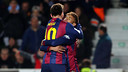 Messi and Neymar eached scored a double against Elche / PHOTO: MIGUEL RUIZ-FCB