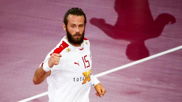 Noddesbo, pieza clave de Dinamarca / FOTO: Qatar Handball 2015