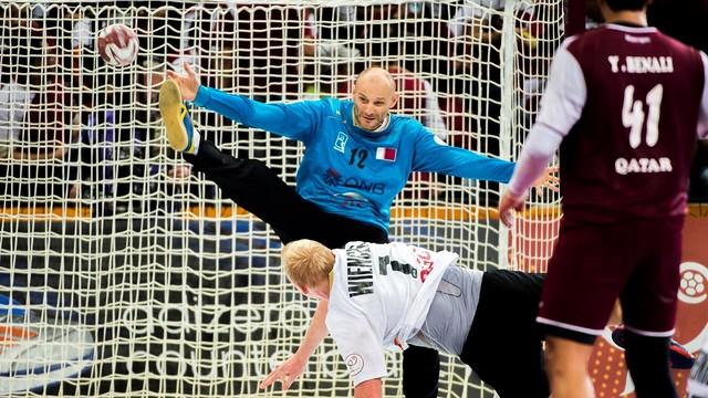 Saric lidera el triomf de Qatar sobre Alemanya / FOTO:Qatar handball 201