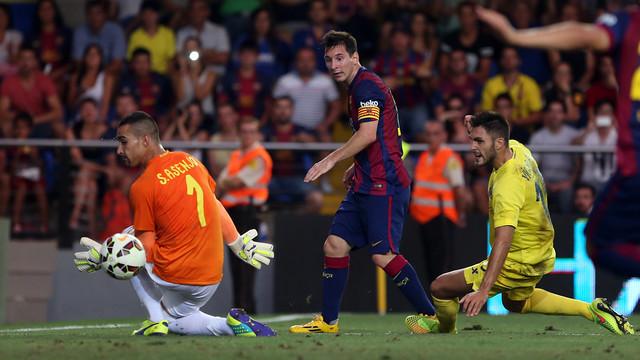 Messi, contra el Vila-real. FOTO: MIGUEL RUIZ-FCB.