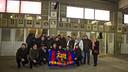 Crest unveiling of the PB Perla de Arousa