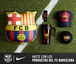 Hazte con los productos del FC Barcelona