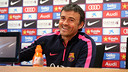 Luis Enrique is confident that Barça can get a good result on Wednesday / MIGUEL RUIZ - FCB