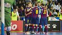 It was a nail-biting encounter, but Barça got the all-important win / PHOTO: VICTOR SALGADO - FCB