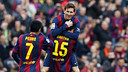 Against Levante, Messi scored yet another hat-trick / MIGUEL RUIZ-FCB