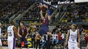 Hezonja had a big night in Barça's semi-final win. / ACB