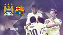 Barça will play in yellow in Manchester / PHOTOMONTAGE FCB