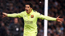 Suárez was the hero of a terrific win in Manchester / MIGUEL RUIZ-FCB