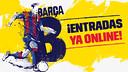 Entradas del Barça B, disponibles en la web del FC Barcelona