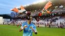Bravo has set a new Chilean record for games in La Liga / FCB ARCHIVE