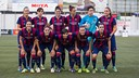 L'onze del Femení A / ARXIU FCB