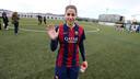 Vicky Losada dijo adiós a la Ciudad Deportiva contra el Sant Gabriel / MIGUEL RUIZ-FCB