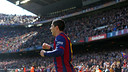 Luis Suárez après un but / MIGUEL RUIZ-FCB