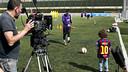 Leo Messi, en la nova campanya global de Beko / FOTO: Dani Aznar