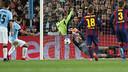 Ter Stegen saves Agüero's penalty / MIGUEL RUIZ-FCB