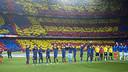 Les supporters du Barça ont répondu présents pour ce Clasico Photo/Miguel Ruiz