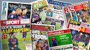 The Monday papers were full of news and views about the Clásico