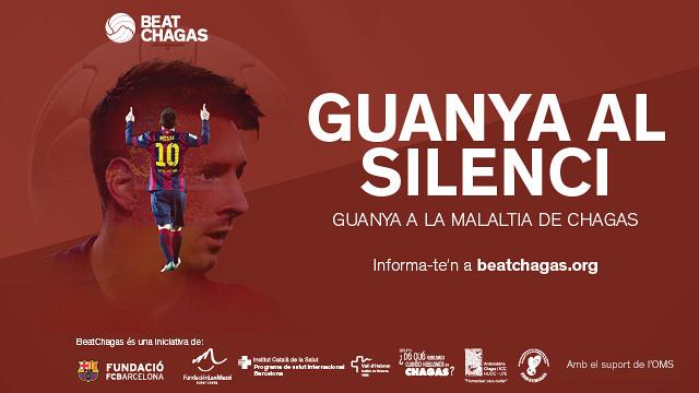 Gràfica de la campanya amb la imatge de Leo Messi