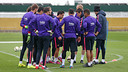 Barça trained with just 10 players on Wednesday / MIGUEL RUIZ - FCB