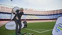 Camp Nou welcomes a delegation from the Ryder Cup / VICTOR SALGADO