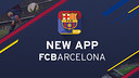 There is a new FC Barcelona mobile app available for iOS and Android users. / FCB