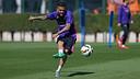 Dani Alves ha vuelto a entrenar con normalidad / MIGUEL RUIZ - FCB