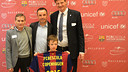The presentation of the FCB Escola in Denmark