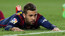 Jordi Alba was injured while playing for Spain. / MIGUEL RUIZ-FCB