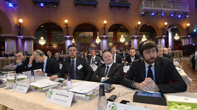 Bartomeu during the ECA General Assembly