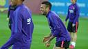 Alves, entre los 18 convocados / MIGUEL RUIZ-FCB