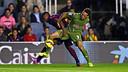 En el partido de la primera vuelta, Barça B y Real Sporting empataron a zero en el Miniestadi / FCB