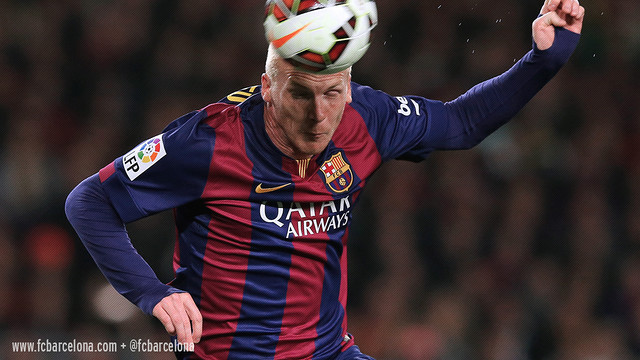 Mathieu has made 30 appearances for Barça so far this season / MIGUEL RUIZ - FCB
